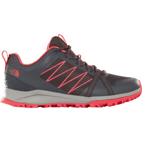 The North Face Litewave Fastpack II Buty Kobiety, ebony grey/atomic pink